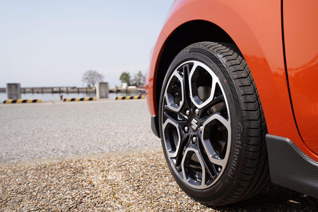 スズキ スイフトスポーツ ZC33S オレンジ 納車(タイヤ&ホイール)