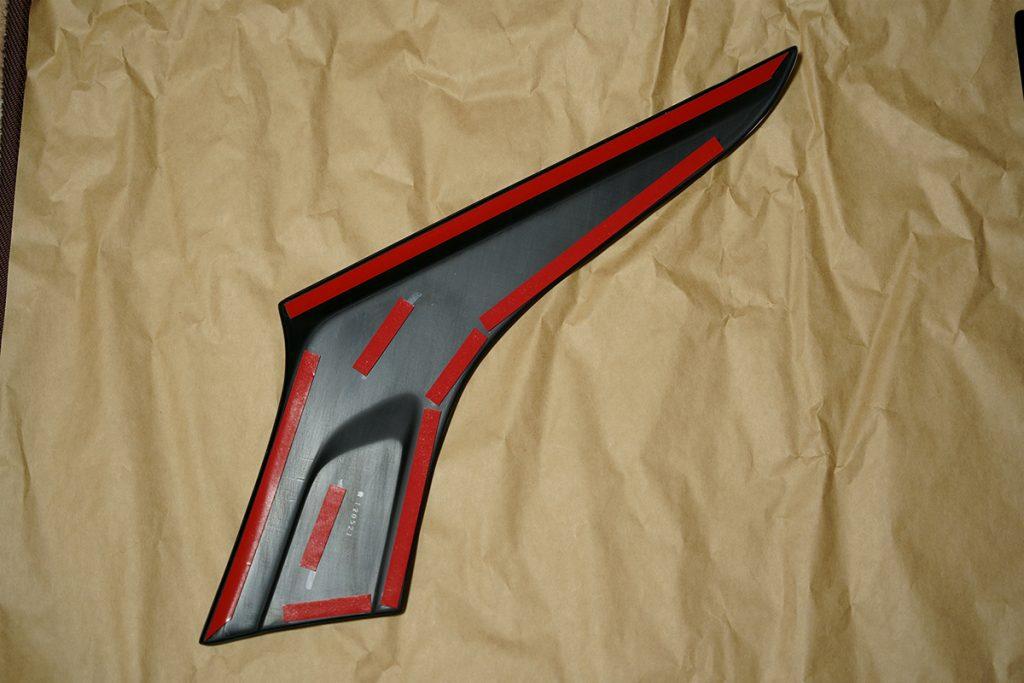 スズキ スイフトスポーツ ZC33S Cピラーパネル(取付け面)
