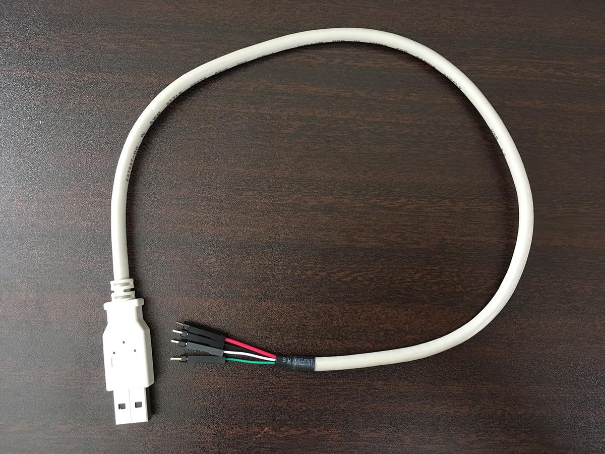 PCケース用USBケーブル