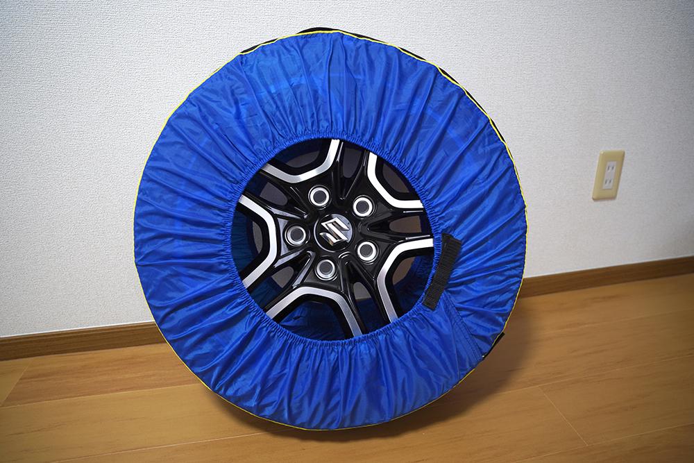 ミシュラン タイヤバッグmichelin Tire Totesを装着