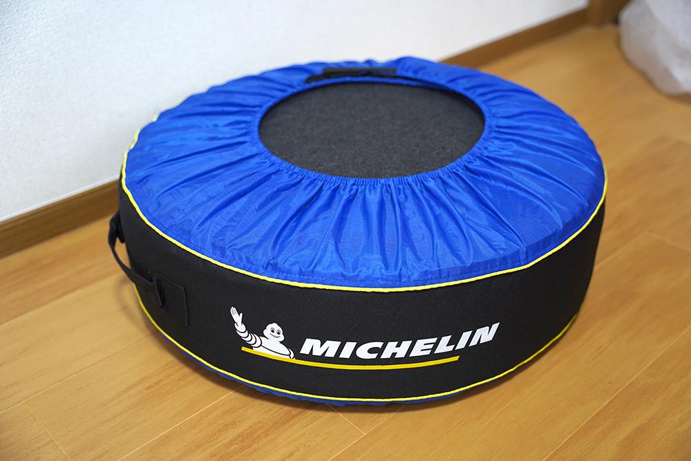 ミシュラン タイヤバッグmichelin Tire Totesとフェルトパッドの組み合わせ